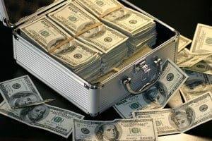 fonder med pengar